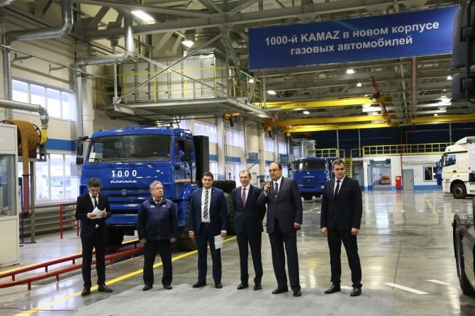 КамАЗ выпустит 1 тыс авто наприродном газе в предстоящем году