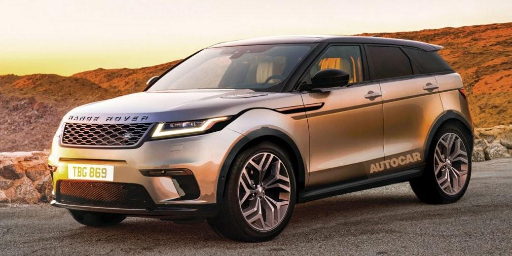 Новый Range Rover Evoque дебютирует в 2018 году