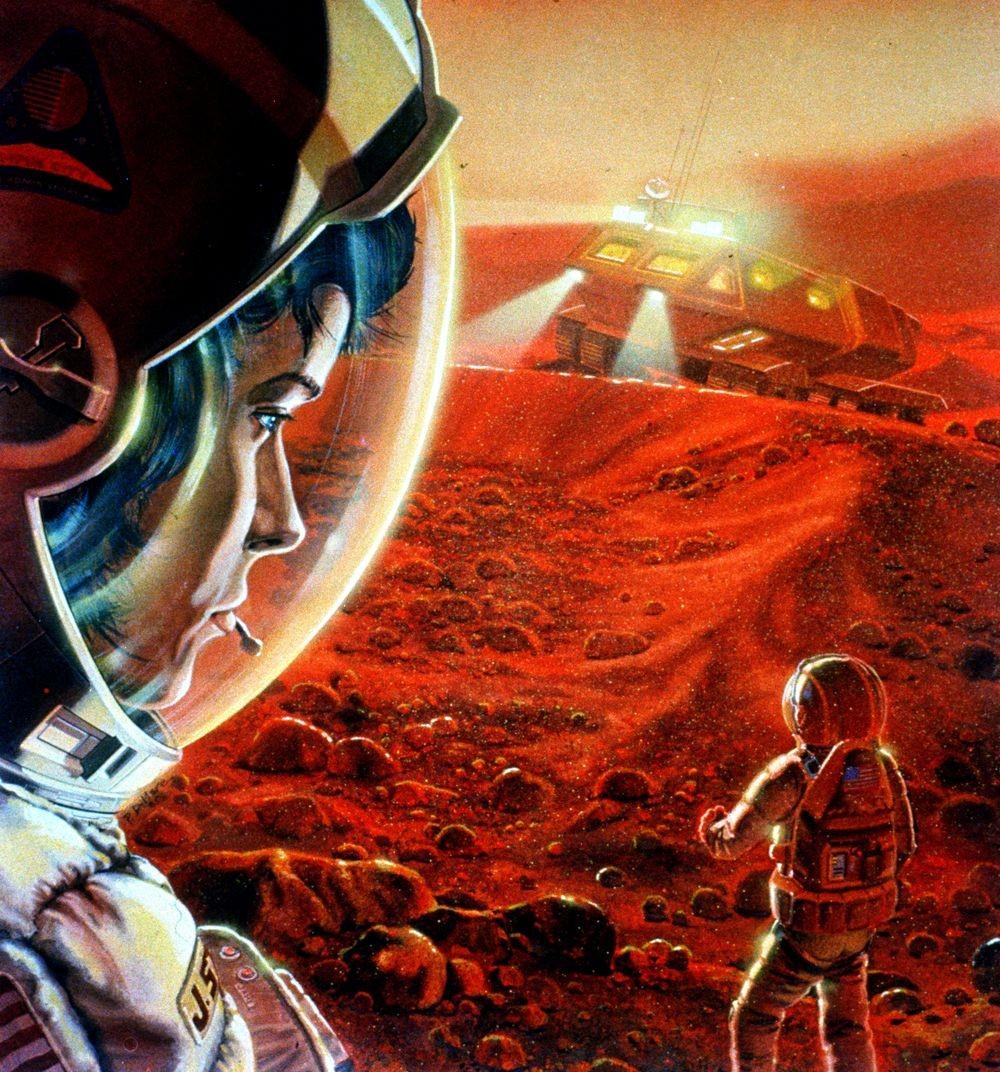 Для обнаружения жизни наМарсе нужно изучать «особые области»