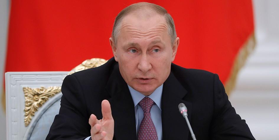 Путину понравился стих о трудной работе президента