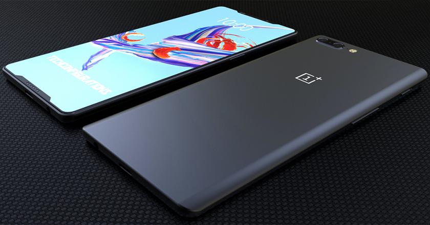 Независимый дизайнер показал предполагаемый концепт OnePlus 6