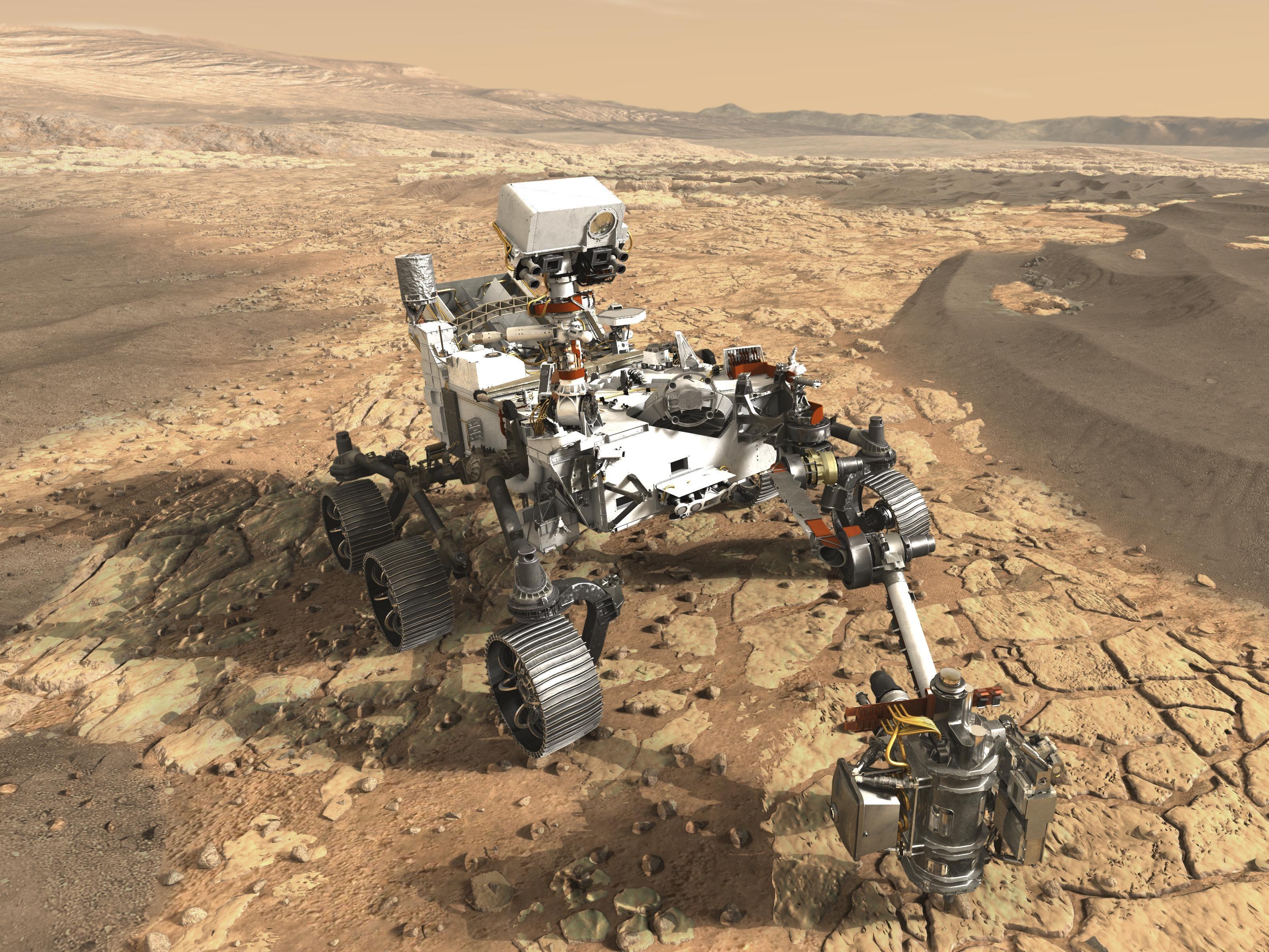nasa curiosity landing - HD2000×1370