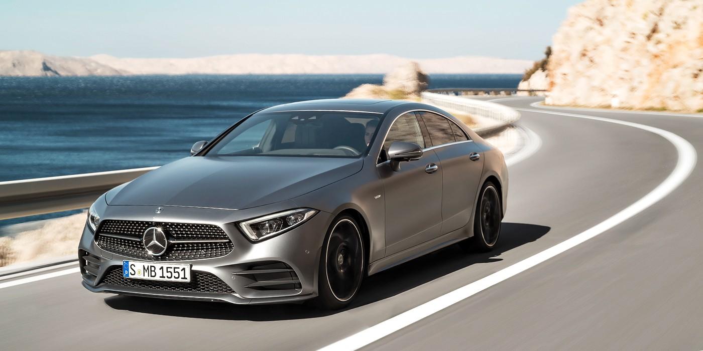 Давно ожидаемая премьера: Mercedes представил вСША собственный новый купе CLS