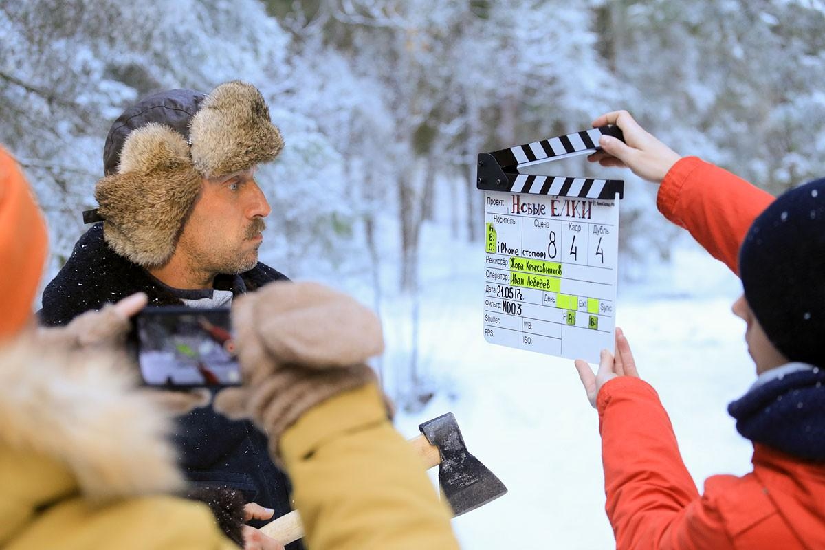 Дмитрий Нагиев повествует, как выжить влесу втрейлере новых «Елок»