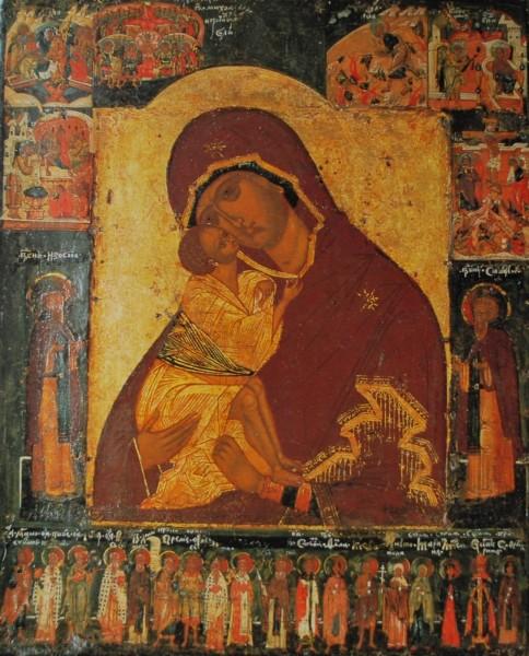 Саратовские заключённые поклонились иконе Божией Матери Донской