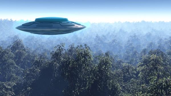В Бразилии очевидцы заметили в небе белый НЛО