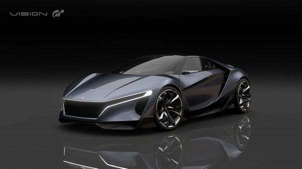 Honda создала виртуальный спорткар для игры Gran Turismo