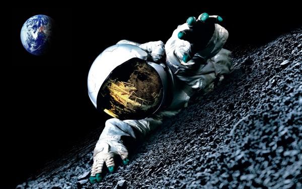 На Луне обнаружен скелет человека: Что скрывает NASA?
