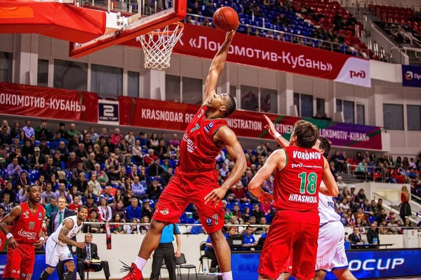 «Локомотив-Кубань» переиграл ВЭФ в рамках Единой лиги ВТБ