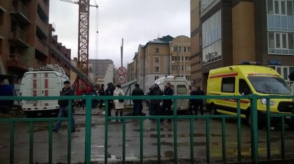 В Сети появилось видео с места обрушения новостройки в Саранске