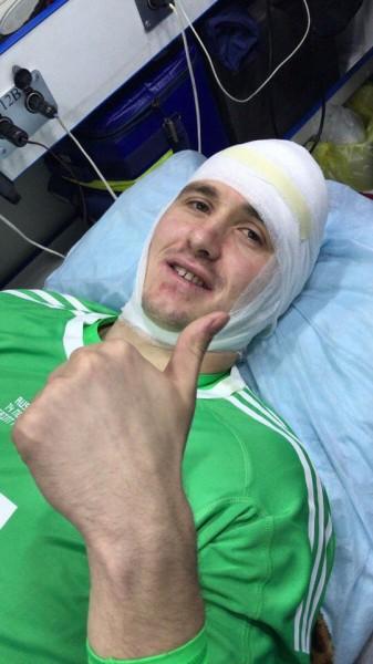 Вратарь «Зенита» Андрей Лунёв выбыл на несколько недель