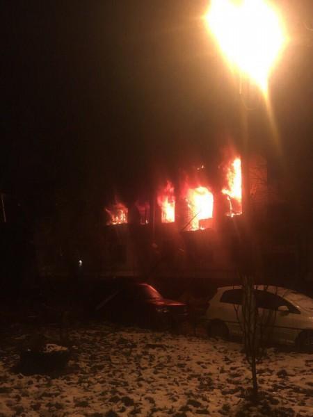 В сети опубликовали видеоролик с места хлопка газа в Химках