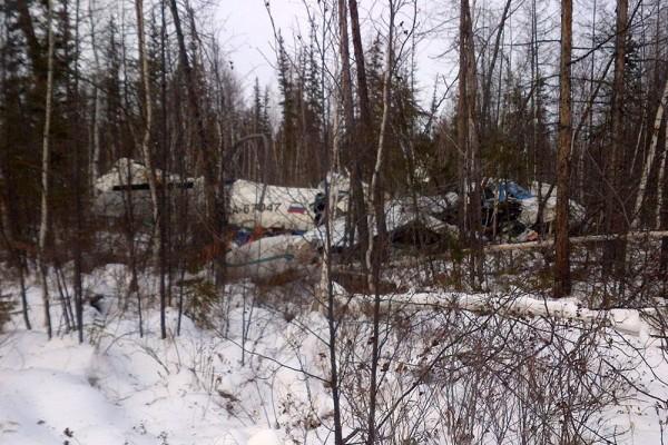В сети появились новые кадры с места крушения L-410 в Хабаровском крае