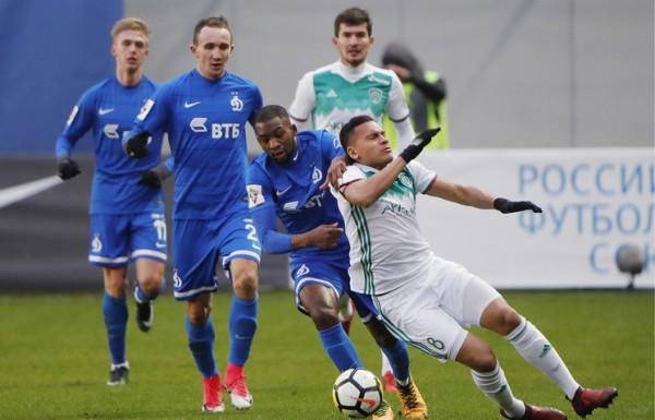 «Динамо» и «Ахмат» довольствовались ничьей в очередном туре чемпионата России