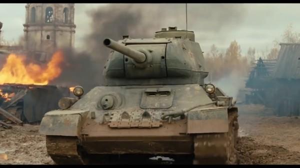Показательный танковый бой организовали на спецполигоне в Ленобласти