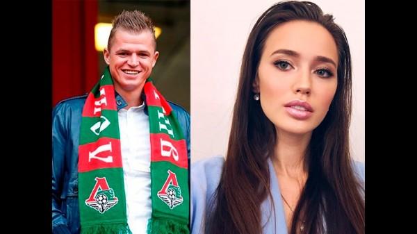 Девушка футболиста Тарасова оказалась в центре критики за золотой крест на шее