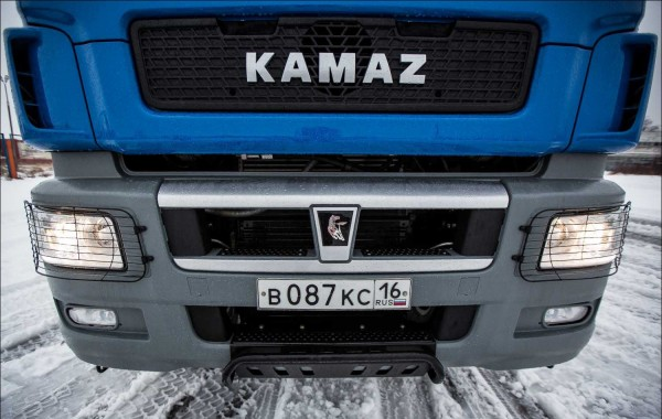 Новый корпус «КАМАЗ» выпустил тысячный газомоторный автомобиль