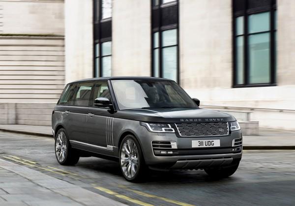 Range Rover представлен в самой роскошной версии SVAutobiography