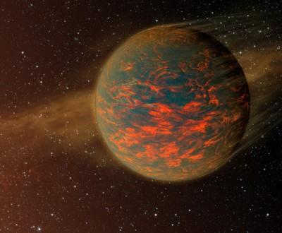 В NASA обнаружили Янссен: Двуликая планета, где встречается день с ночью