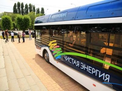 В Волгограде жителям предлагают протестировать новый электробус