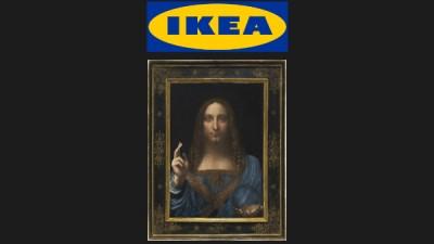 IKEA предлагает для самой дорогой картины мира раму за 13 долларов