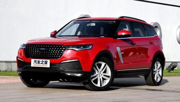 Объявлен ценник нового джипа Zotye T700