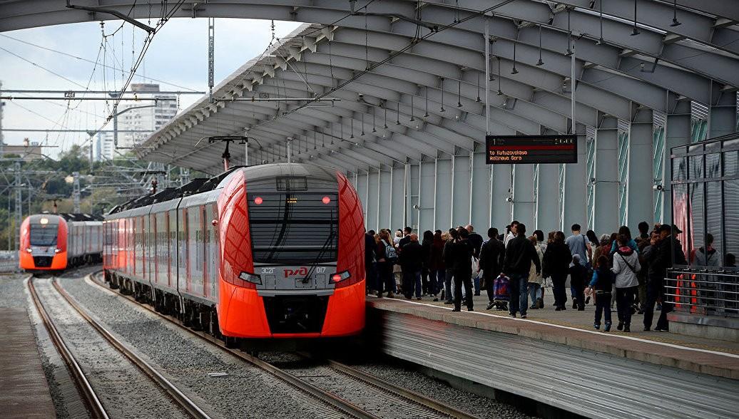 Интервалы движения поездов сократили на МЦК из-за непогоды