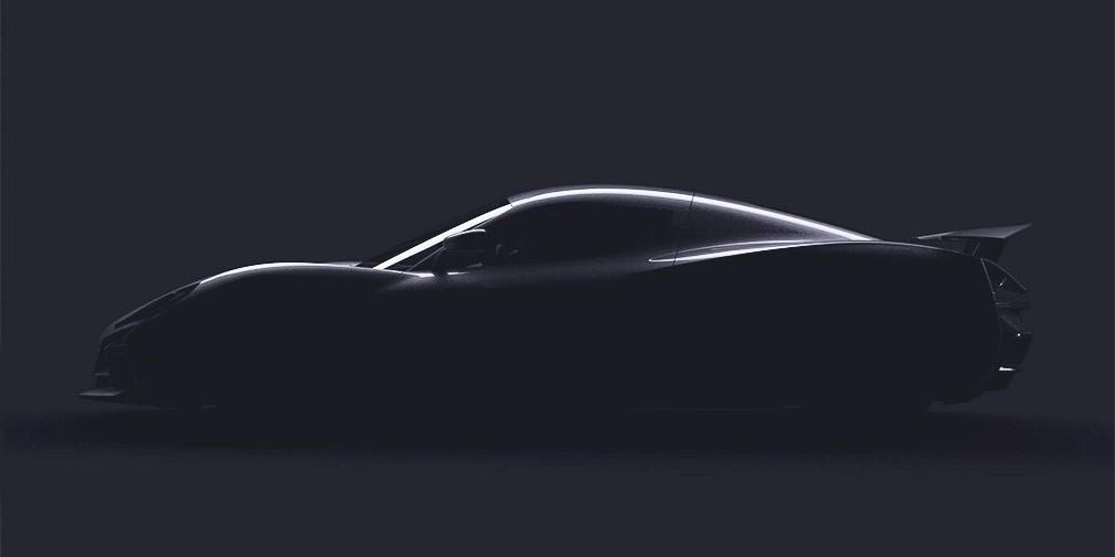 Новый гиперкар Rimac поборется сTesla Roadster