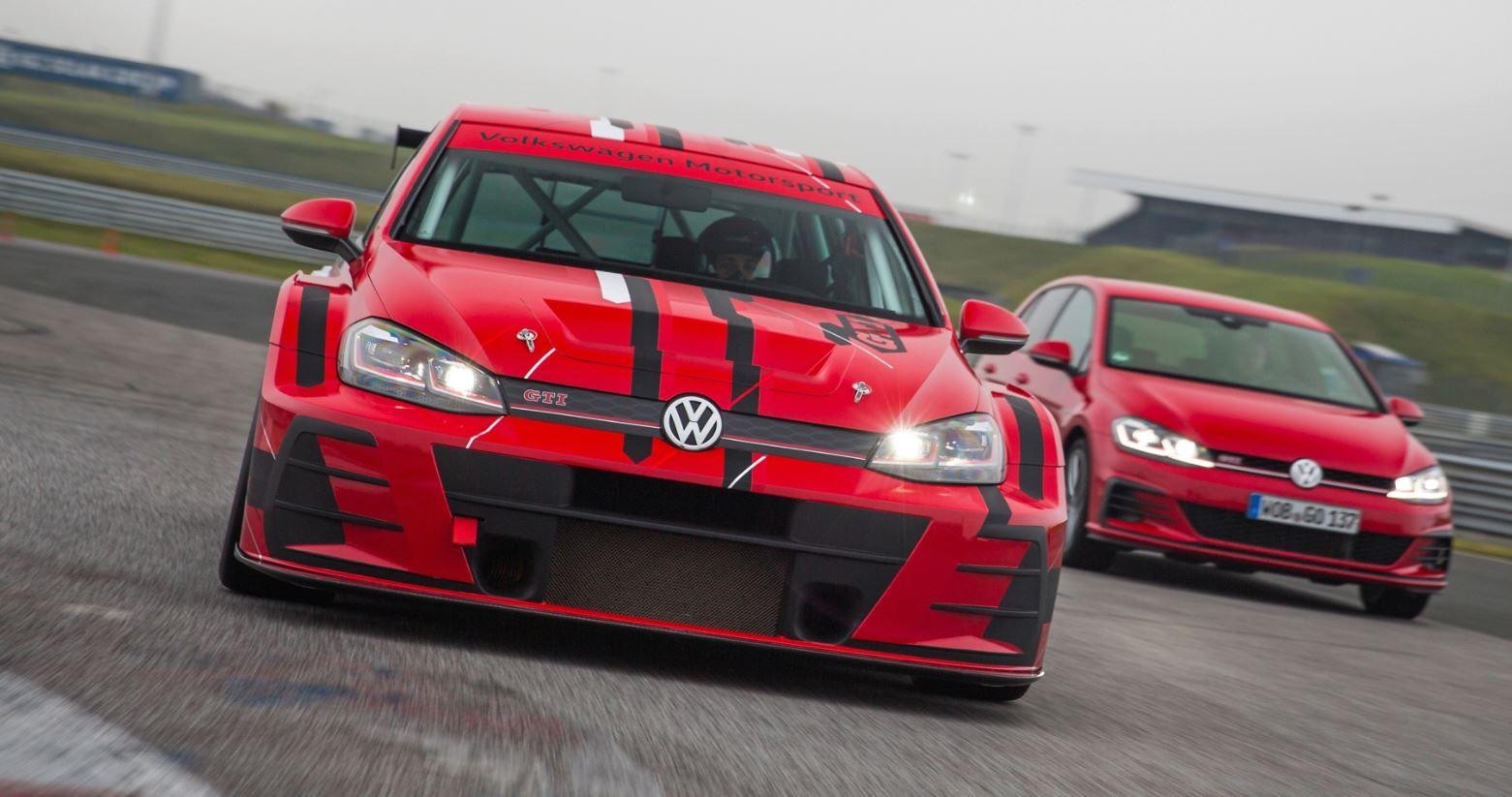 Новый VW Golf GTI TCR готов кстарту сезона 2018