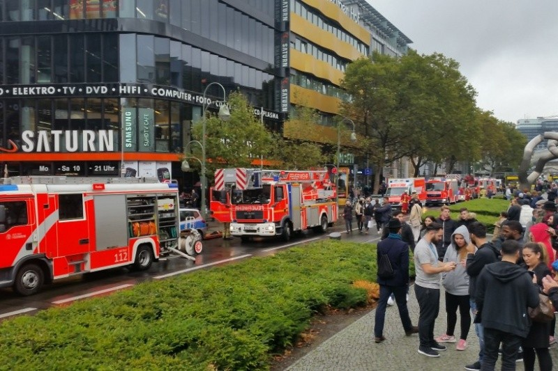В итоге пожара вБерлине пострадали 13 человек