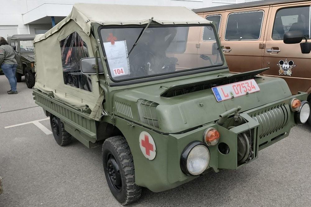 Уникальный внедорожник ЛуАЗ-967 без пробега продают в Германии