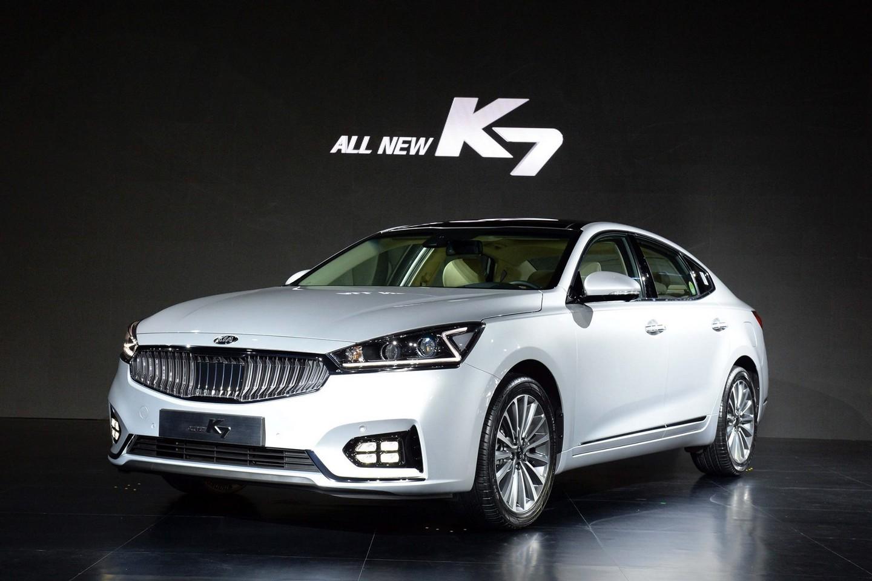 Наюжнокорейский рынок автомобилей в реализацию поступили Киа K7