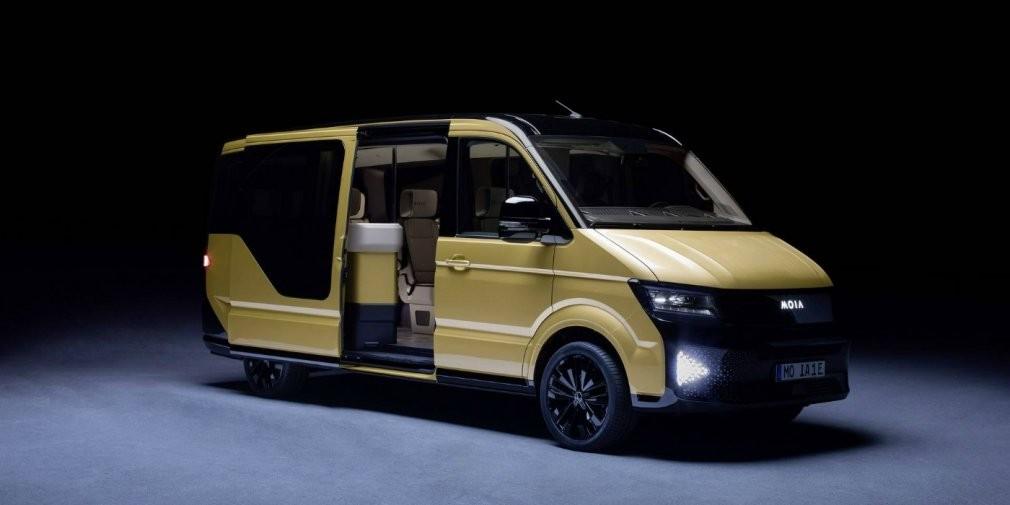 VWпредставил 6-местный электровэн для райдшеринга