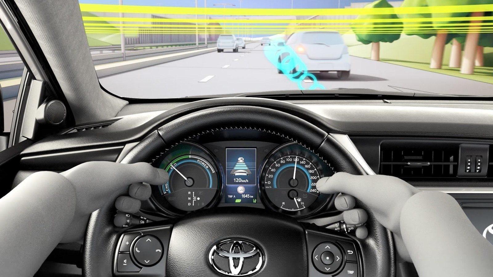 Toyota анонсировала систему безопасности Safety Sense второго поколения