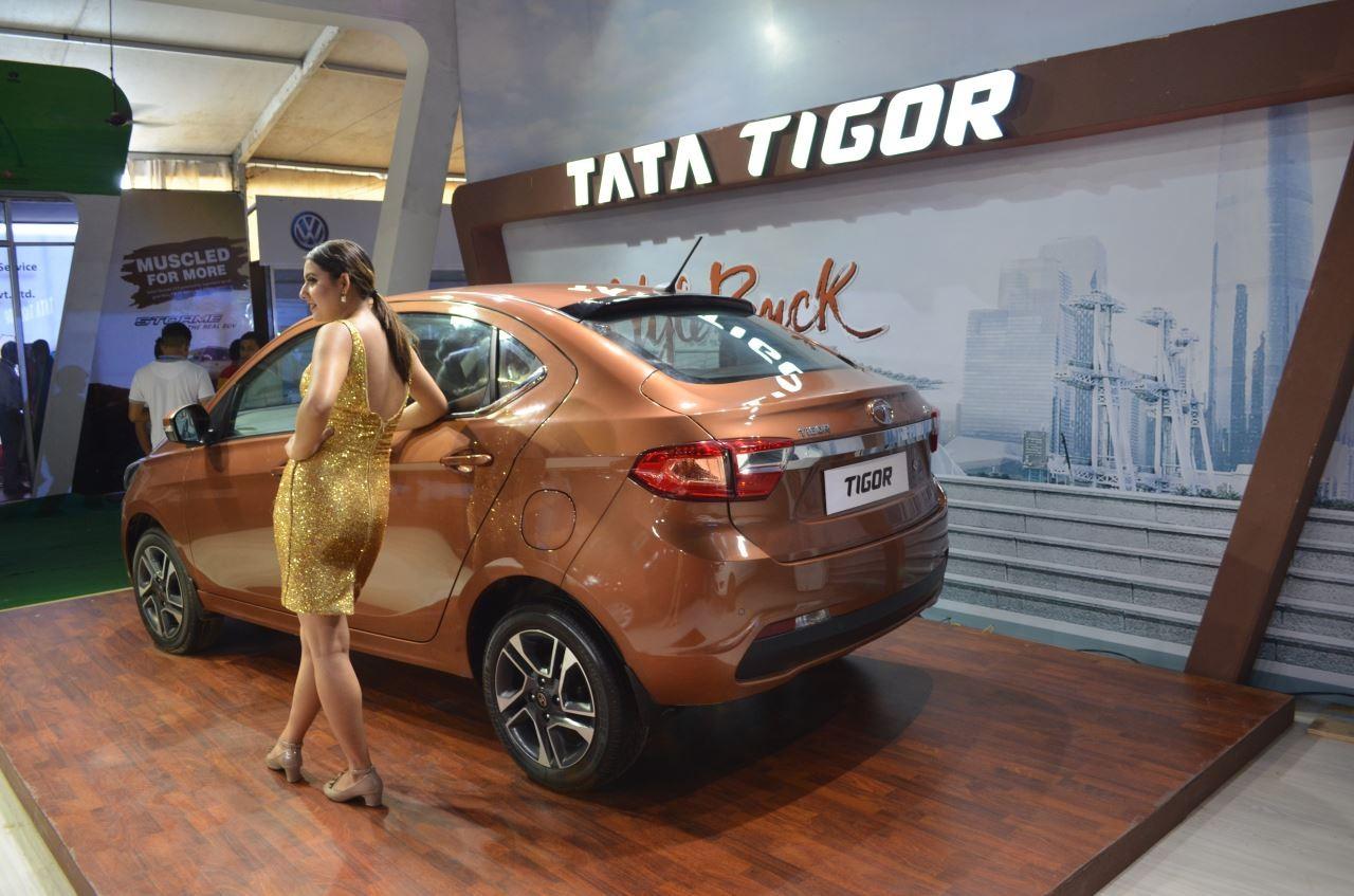 Чиновников изИндии пересадят набюджетный электрокар Tata TigorEV