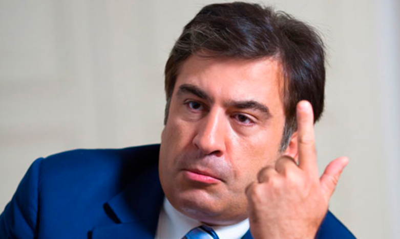 Саакашвили пожаловался вНАБУ наЛуценко иГрицака