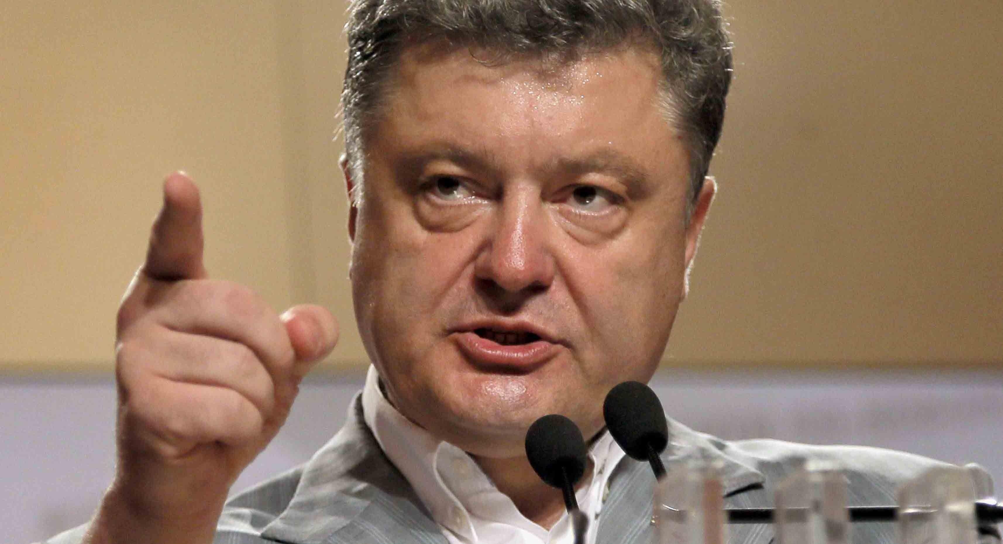 Народ вас сметет: украинцы ответили Порошенко наультиматум обантикоррупционном суде