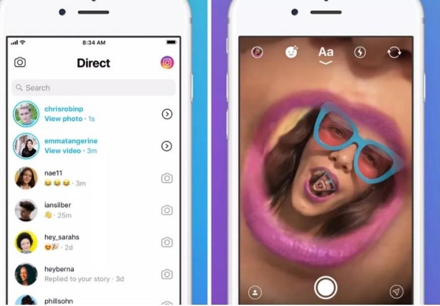 Instagram выпустит отдельное приложение для переписки