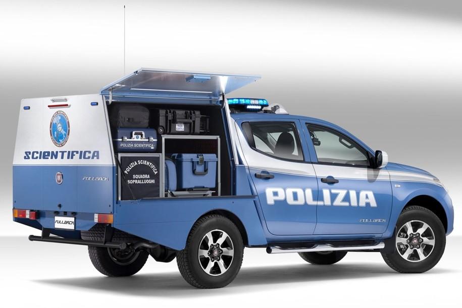 Fiat разработал пикап для криминалистов