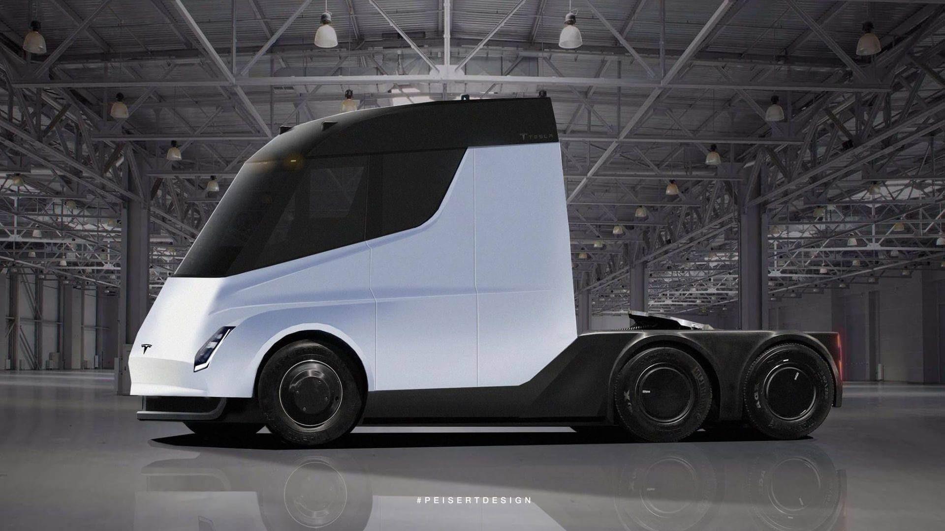 Anheuser-Busch заказала беспилотные фургоны Tesla