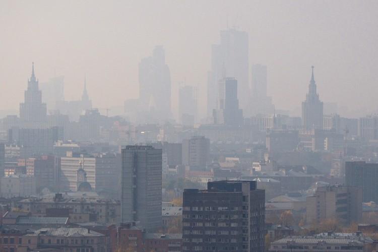 Роспотребнадзор начал проверку загрязнения воздуха в 9-ти округах столицы