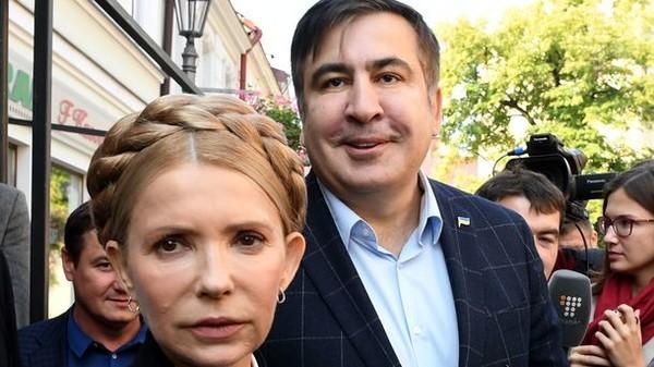 Тимошенко потребовала отПорошенко освободить Саакашвили