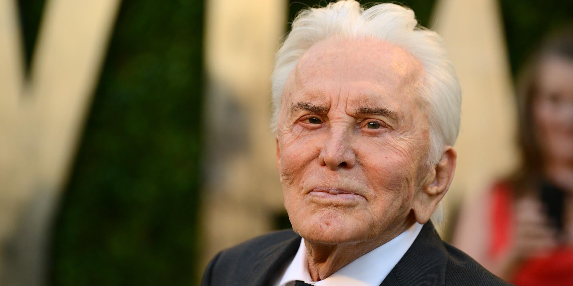 Легенда американского кино Кирк Дуглас отмечает 9декабря 101-й день рождения