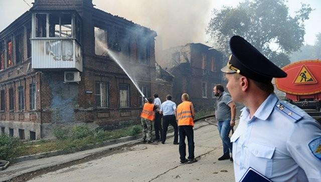 Ростовские погорельцы получат дополнительные единовременные выплаты