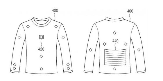 Компания Самсунг запатентовала новый смарт-джемпер для подзарядки девайсов