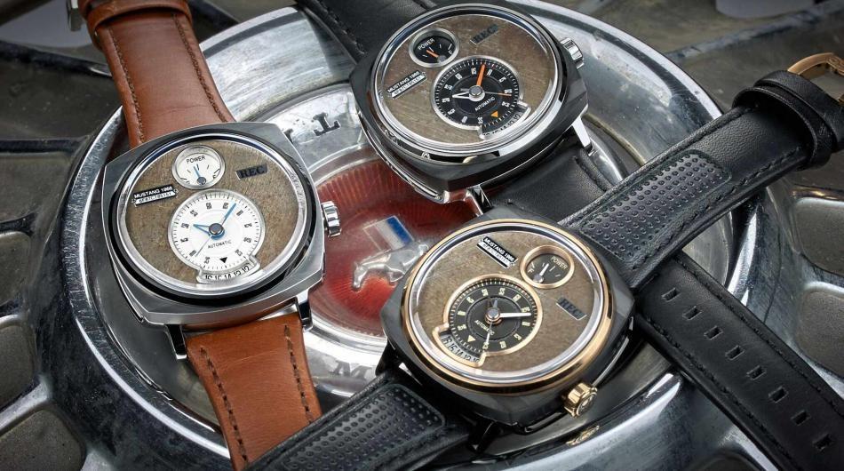 Датская компания производит часы изстарых авто Форд Mustang