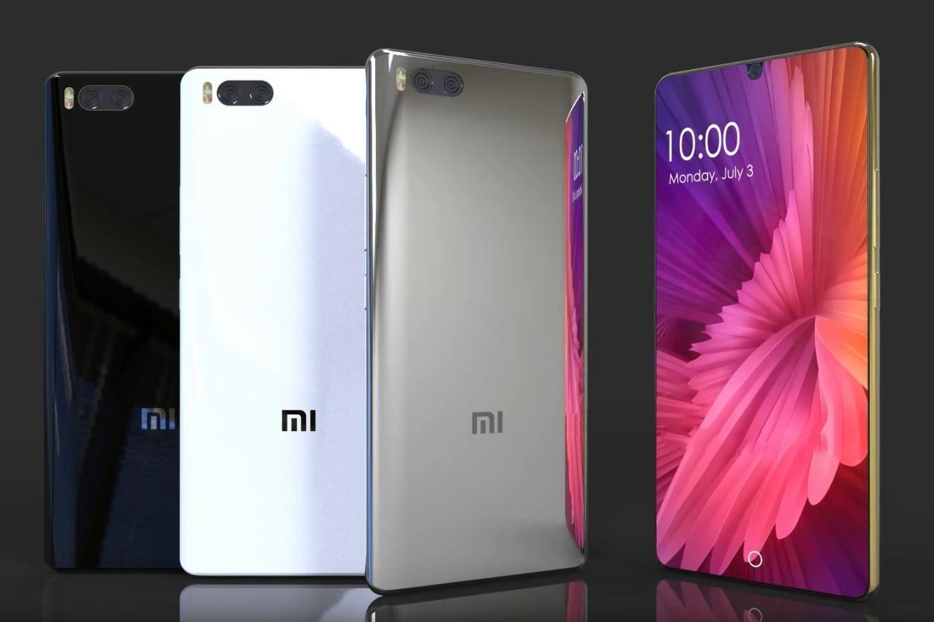 Xiaomi Mi7 будет доступен покрайней мере в 2-х модификациях