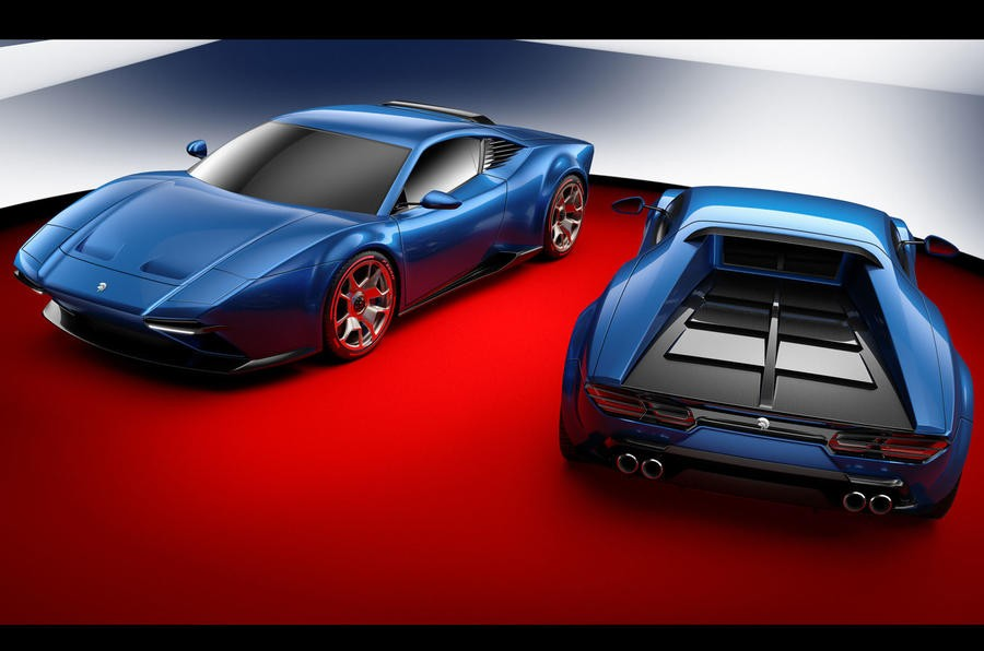 Суперкар соскладными фарами в 2017 году - Ares Design Panther