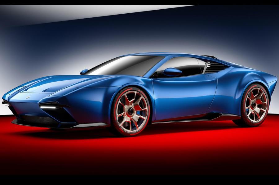 Ares Design презентовала суперкар Panther соскладными фонарями