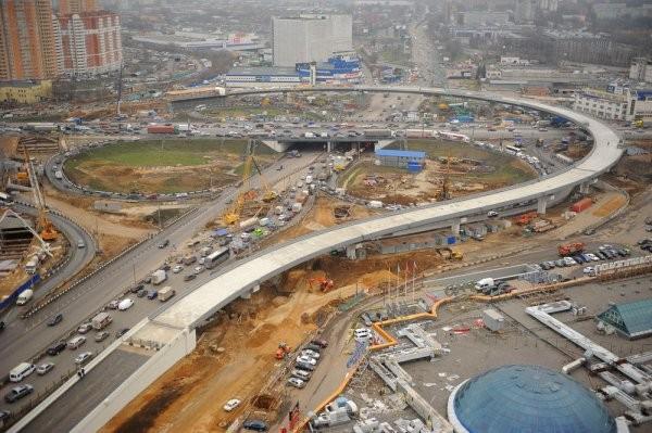 Дмитровское шоссе в российской столице расширят при строительстве ТПУ «Селигерская»